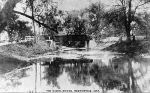 Radial Railway Bridge, Meadowvale, c1915