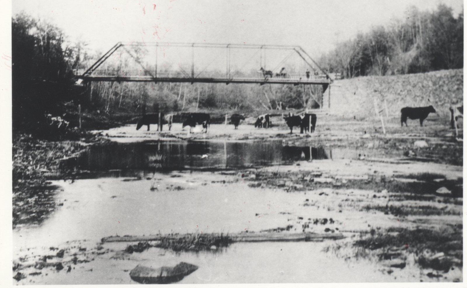 Glenorchy Bridge 1900