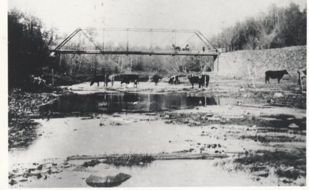 Glenorchy Bridge 1900