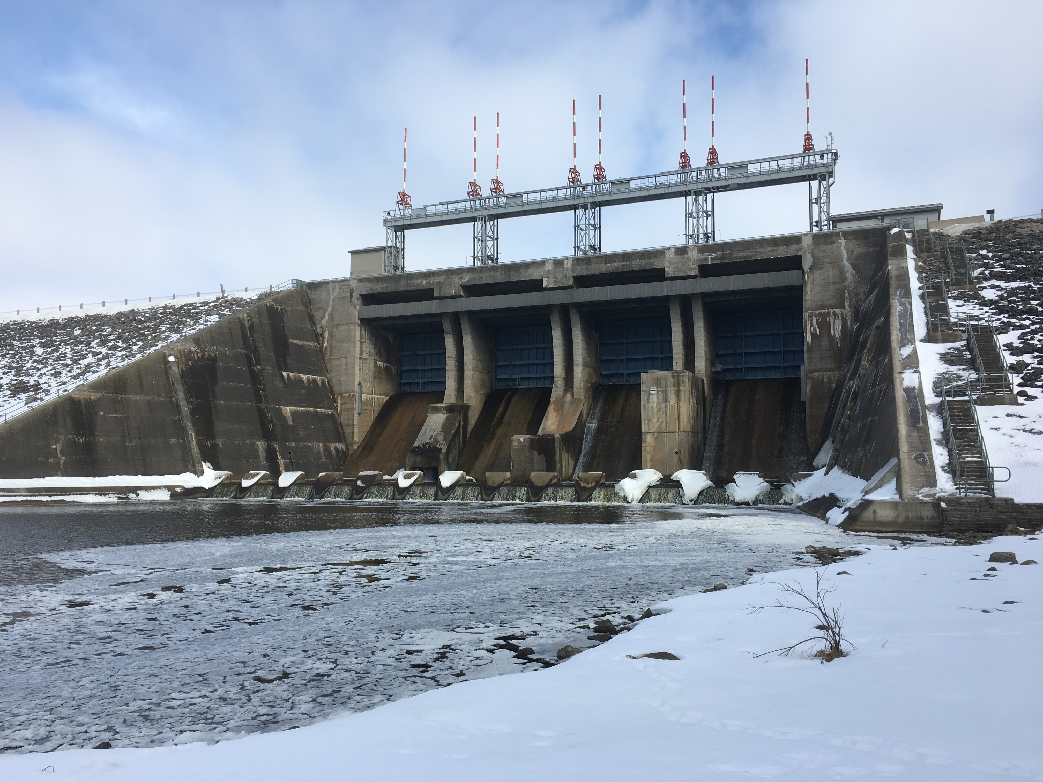 The Shand Dam   Hiking the GTA