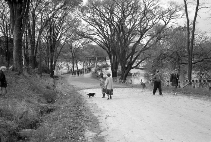 Old albion road bridge 1954