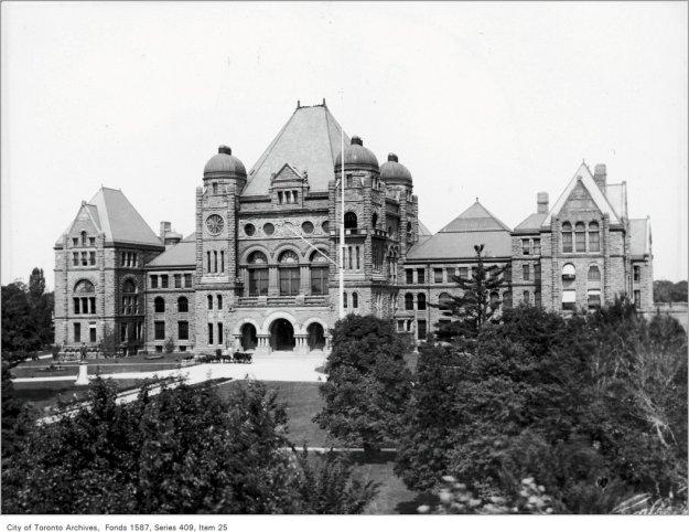 Parliament Buildings, Queen's Park