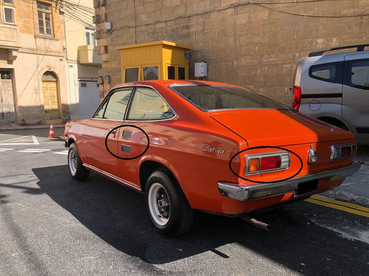 1973 Datsun 1200